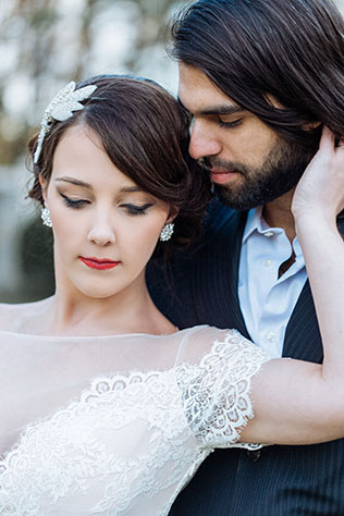 An elegant and refined Edwardian chateau inspiration shoot by Krista Lajara Photography