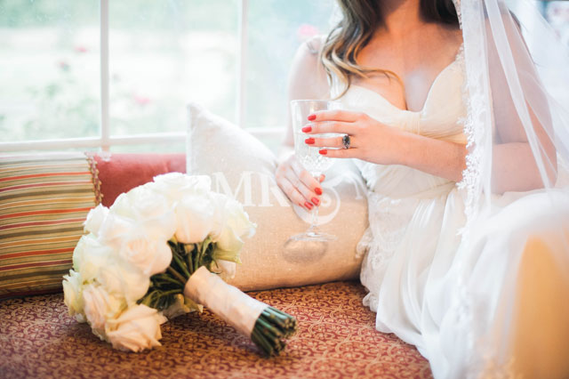A vintage bridal portrait session at the bride's childhood home in Oklahoma   Kristina Gaines Photography: kristinagainesphotography.com