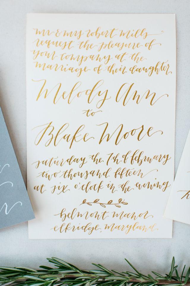 Creative Ideas for Spring Wedding Decor: Watercolor & Calligraphic Decor