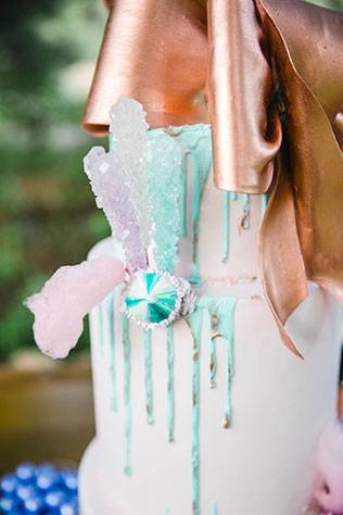 Let Them Eat Cake, a whimsical and pastel dessert filled wedding styled shoot by Linger Photography
