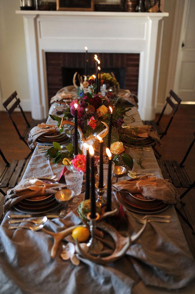 A romantic and lush marsala winter wedding styled shoot in Virginia   Megan Noonan Photography: http://www.megannoonan.com