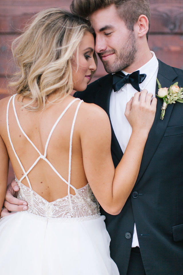 A charming and lighthearted sweet peach styled shoot by Melanie Foster Photography and Bliss Celebration + Design