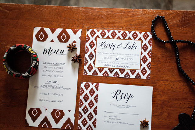 A styled shoot based on a bride's love for the culture, colors and beauty of Africa | Mylyn Wood Photography: http://mylynwoodphotography.com
