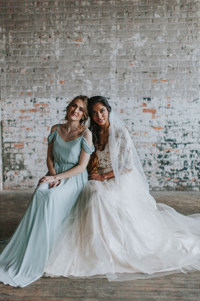 A ballet-themed veils en pointe wedding inspiration shoot with two bridal looks by N. Kristine Photography