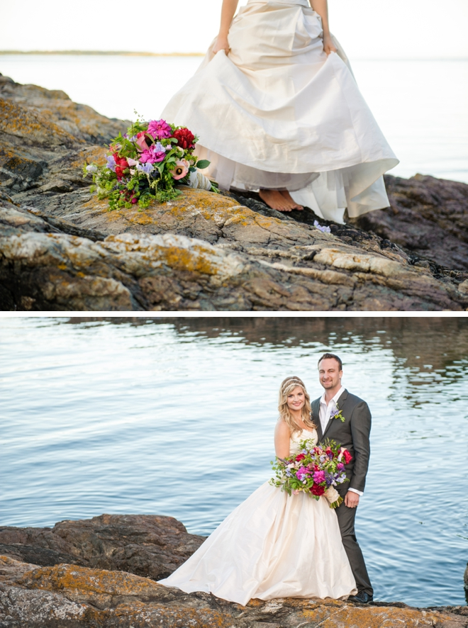 Elegant Ocean View Inspiration Shoot by Nichole Taylor Photography