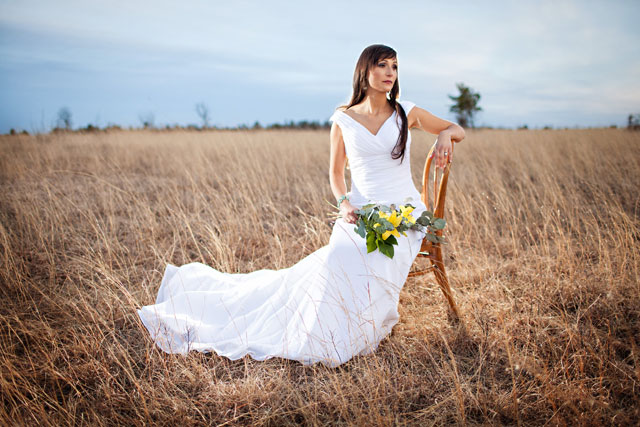 A rustic and bohemian bridal inspiration shoot in the pine plantations of Northern Wisconsin | ON3photography: http://on3weddingphotography.com