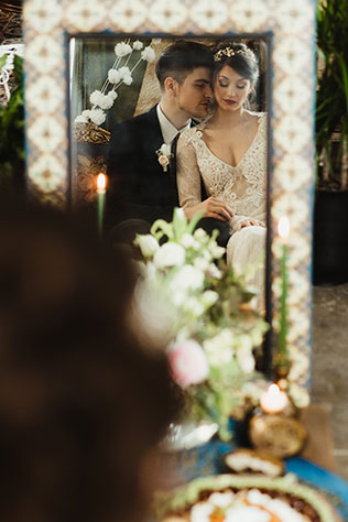 A Persian wedding inspiration shoot in the Pacific Northwest with sofreh aghd by Opal and Rose Photo