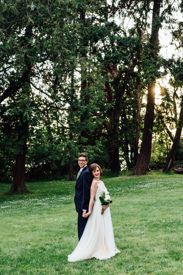 An elegant and ethereal elopement styled shoot in the woods of Washington | Rebecca Anne Photography: http://www.RebeccaAnnePhotography.com