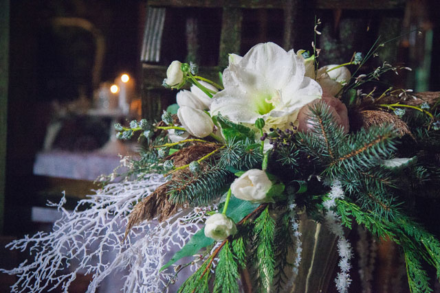 A spectacularly creative and innovative winter frost wedding styled shoot by Ron Delhaye Studios and Unveiled Weddings & Events