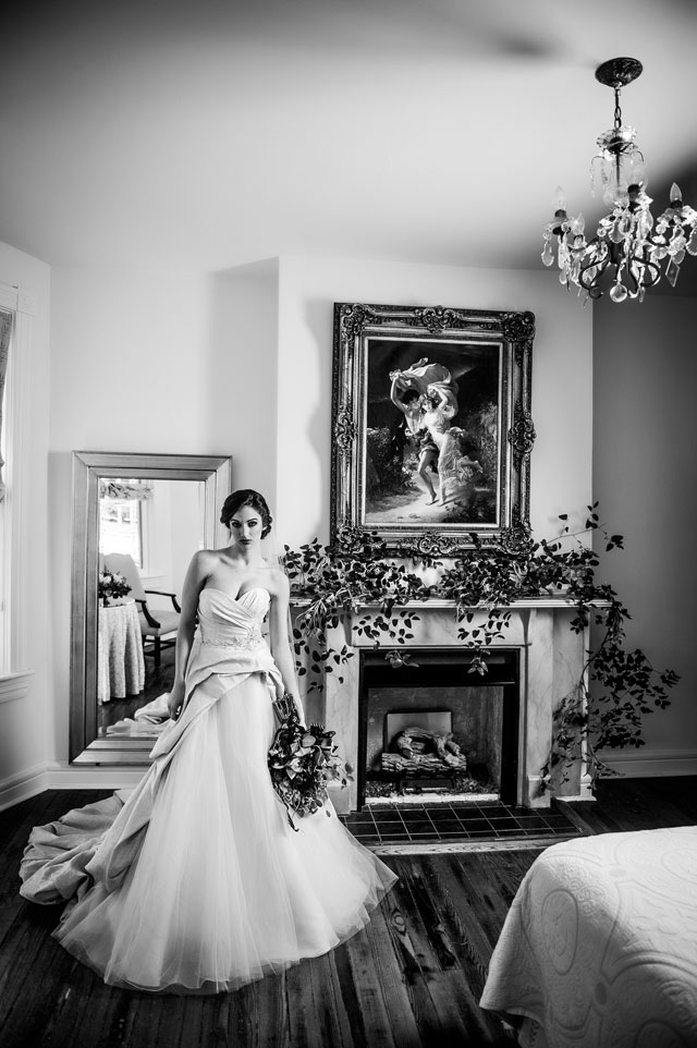 An elegant and romantic vintage bed and breakfast styled shoot at The Freemason Inn | Ross Costanza Photography: http://www.rosscostanza.com