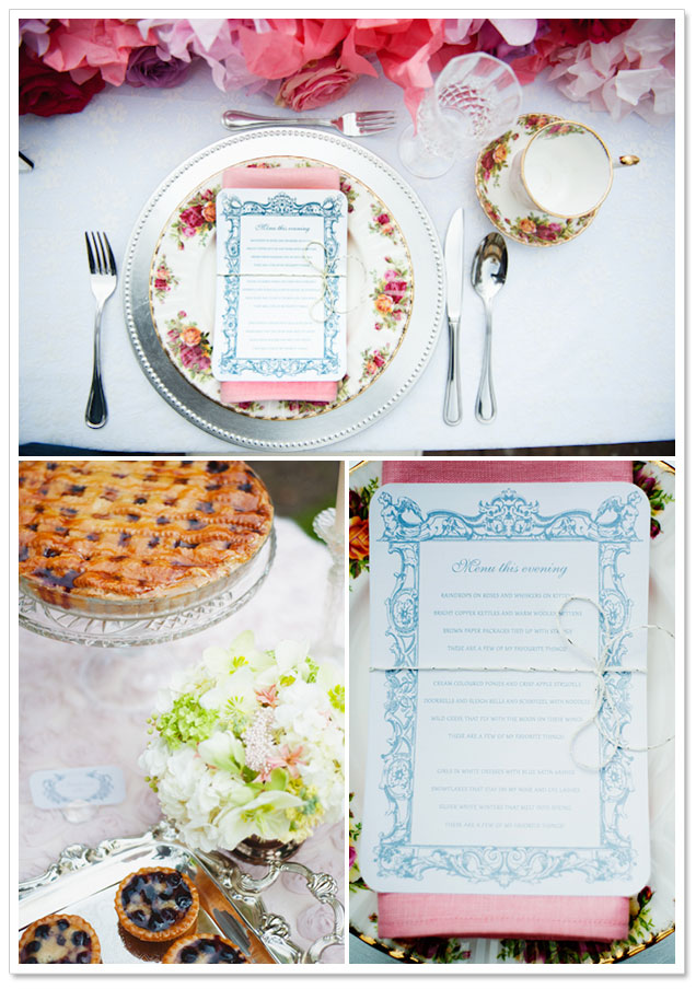 Favorite Things Inspiration Shoot by Rook & Rose Floral Boutique and Jesse Holland Photography on ArtfullyWed.com