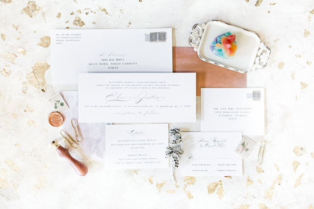 Just a Normal Wedding is a gorgeous rainbow-themed modern wedding styled shoot inspired by Pride Week by Sarah Casile Weddings