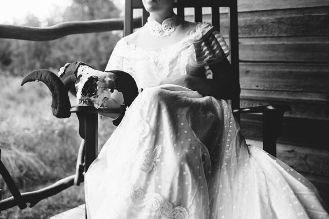 A romantic vintage lace bridal inspiration shoot at Hastings Lake Gardens // photos by Shantal Marie Photography: http://www.shantalmariephotography.com || see more on https://blog.nearlynewlywed.com