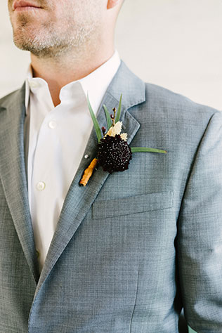 An industrial harvest styled shoot with rich fall tones, an A-frame arch and a 1942 Packard convertible by Stefanie Russo Photography