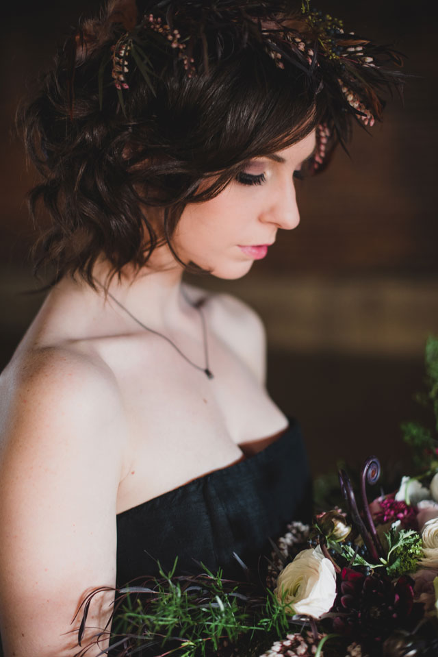 A bold organic inspiration shoot in Pantone's colors of the year, Serenity and Rose Quartz, by Time Into Pixels Photography