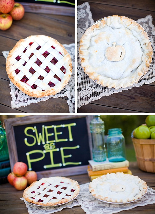 American as apple pie styled shoot by The Purple Tree Photography    see more on blog.nearlynewlywed.com