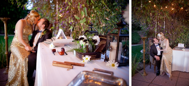 Great Gatsby Wedding Inspiration Shoot by Brinkerhoff Photography on ArtfullyWed.com