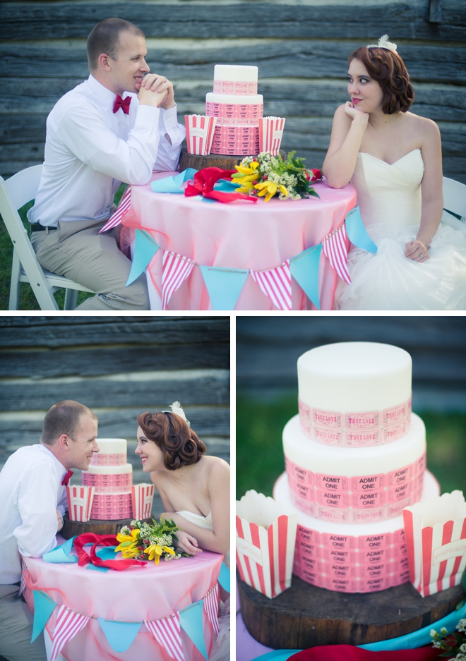 Carnival Wedding Inspiration Shoot by T.Y. Photography on ArtfullyWed.com