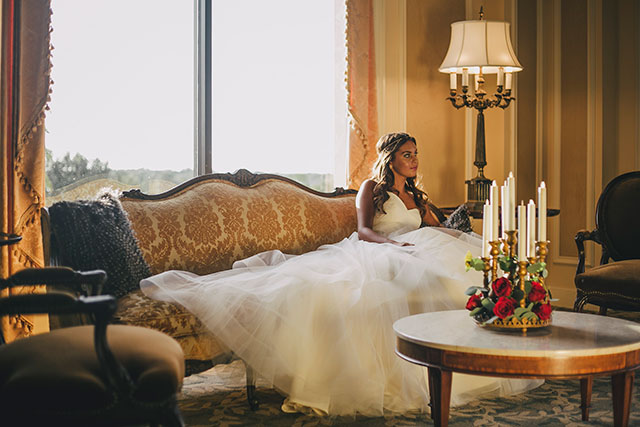 An elegant Beauty and the Beast wedding inspiration shoot in Florida by Villetto Photography