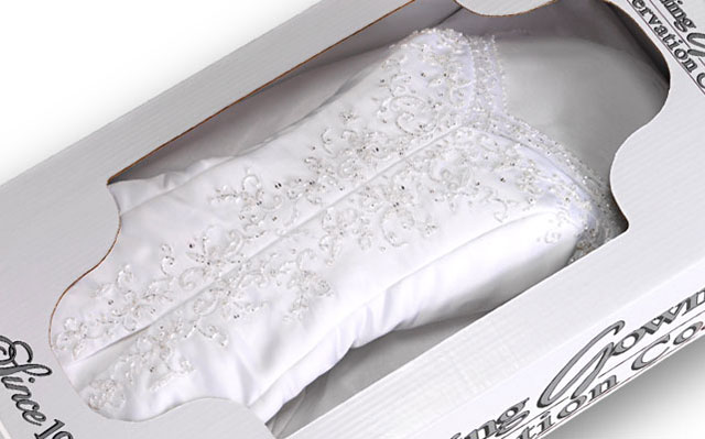 Welcome to the 24K Vendor Guide - Wedding Gown Preservation Kit: https://www.weddinggownpreservationkit.com