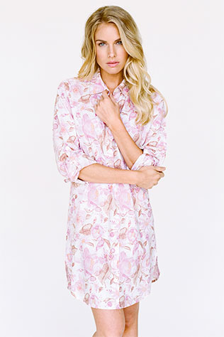 Boyfriend Shirt - Calliope Beneath the Stars | What to Wear for a Boudoir Session: Fun & Flirtatious Lingerie and Robes
