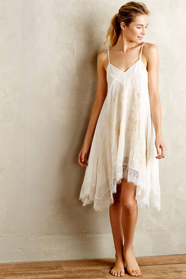 Eloise Maluku Embroidered Chemise | What to Wear for a Boudoir Session: Sweet & Feminine Lingerie and Robes