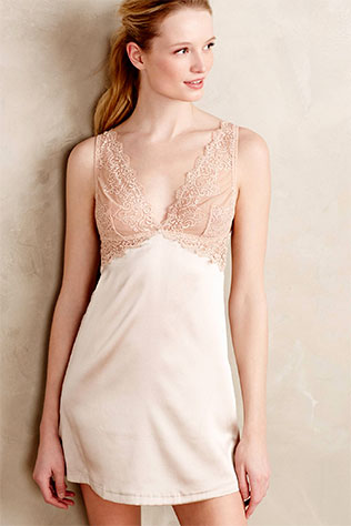 Mimi Holliday Capri Slip Sand | What to Wear for a Boudoir Session: Sweet & Feminine Lingerie and Robes