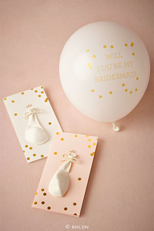 Pop-the-Question Maid Cards | 5 Adorable Ways to Propose to Your Bridesmaids