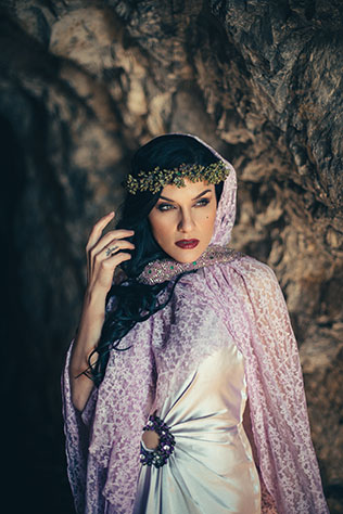 A truly unique Shasta Caverns styled shoot surrounded by ancient stalactites and stalagmites and dramatic lighting by Xsight Media and Tan Weddings and Events
