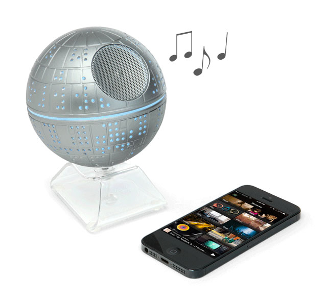 Death Star Bluetooth Speaker | Geeky Gifts for the Groomsmen