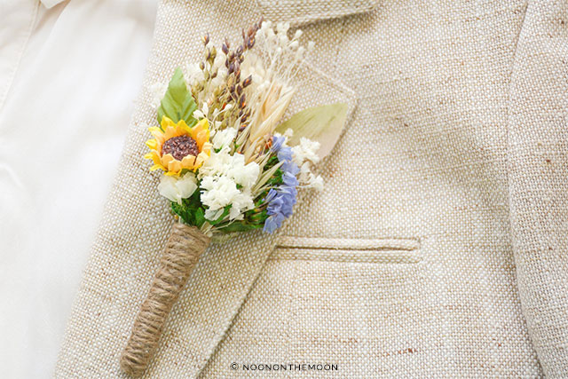 Rustic Wedding Boutonniere by NoonOnTheMoon on Etsy | The A to Z Guide to Planning an Etsy Wedding