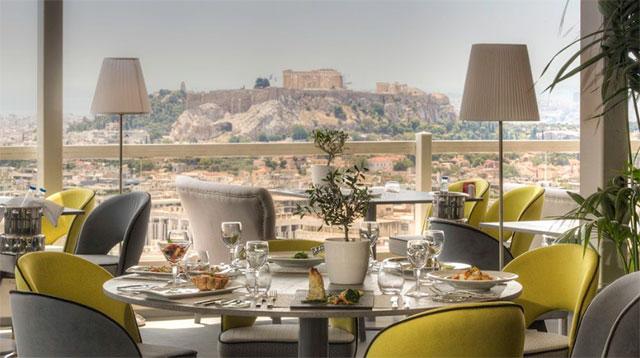 St. George Lycabettus Hotel | Honeymoon in Greece