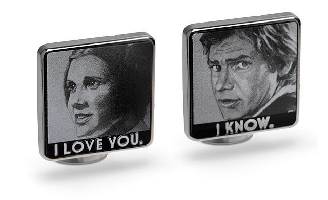 I Love You / I Know Cufflinks | Geeky Gifts for the Groomsmen