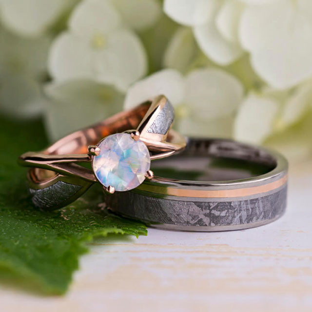 Jewelry by Johan's Wedding Bands Are Out of This World