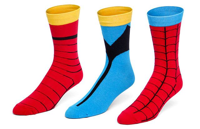 Marvel Superhero Socks Set | Geeky Gifts for the Groomsmen
