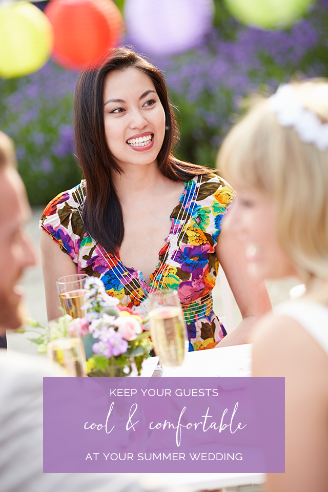 How to Keep Guests Comfortable at a Summer Wedding
