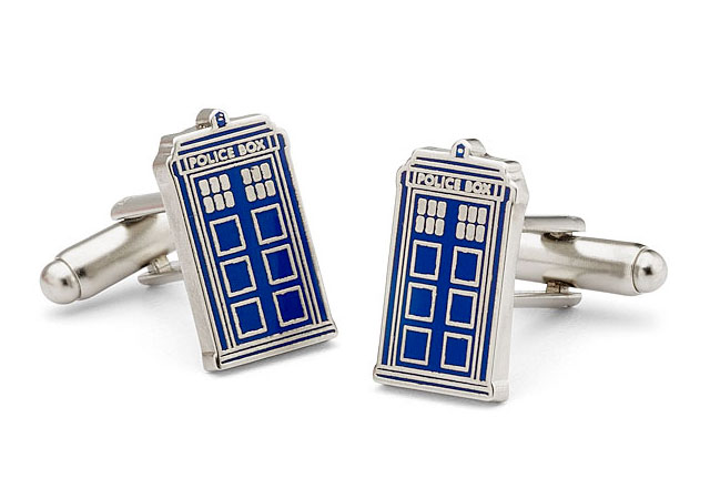 Doctor Who Cuff Link TARDIS | Geeky Gifts for the Groomsmen