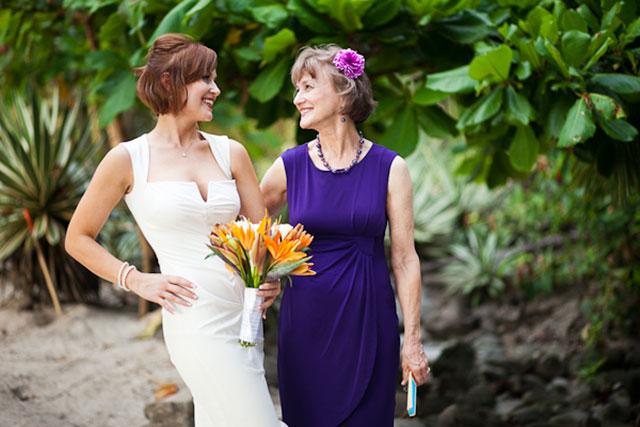 An intimate destination beach wedding in Costa Rica   A Brit & A Blonde: abritandablonde.com