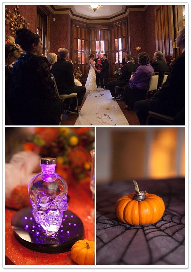 Halloween Wedding at Renwick Mansion by Ashley Biess Photography on ArtfullyWed.com