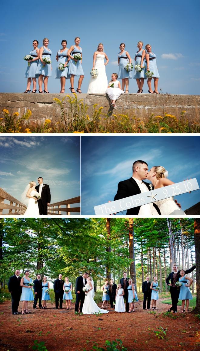 A nautical chic beach wedding in Plymouth | A Brilliant Photo