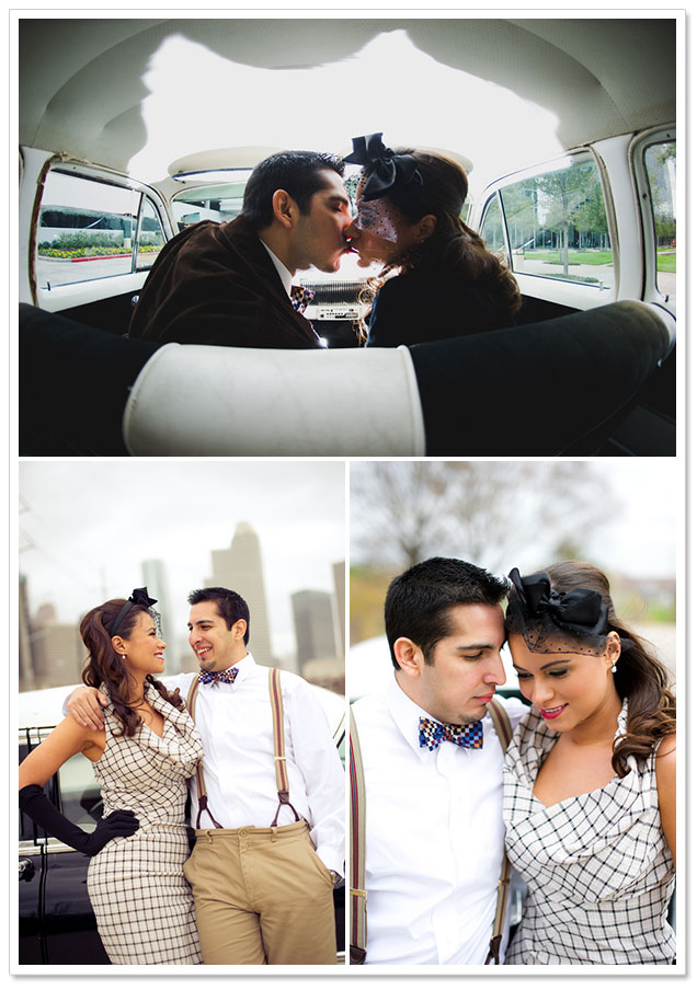 1940s Engagement Session by AJH Photography on ArtfullyWed.com