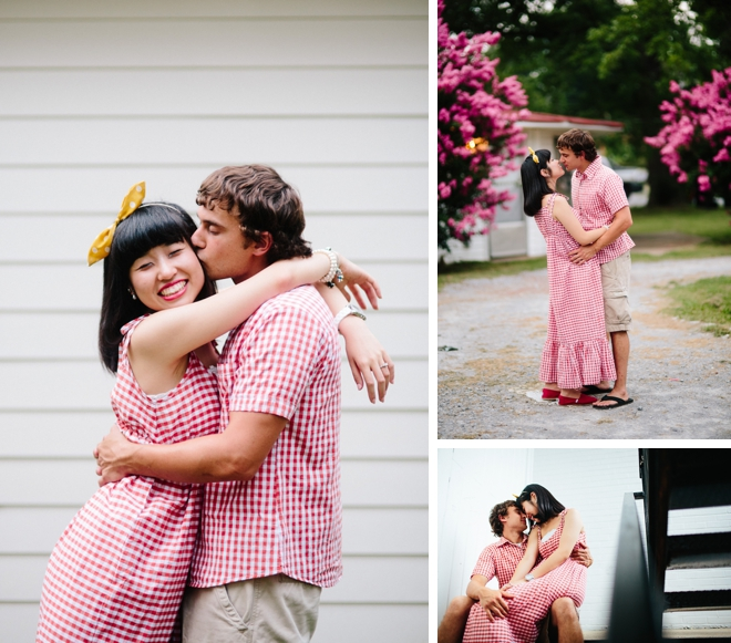 Cute and Quirky Engagement Session by Alex Bee Photo on ArtfullyWed.com