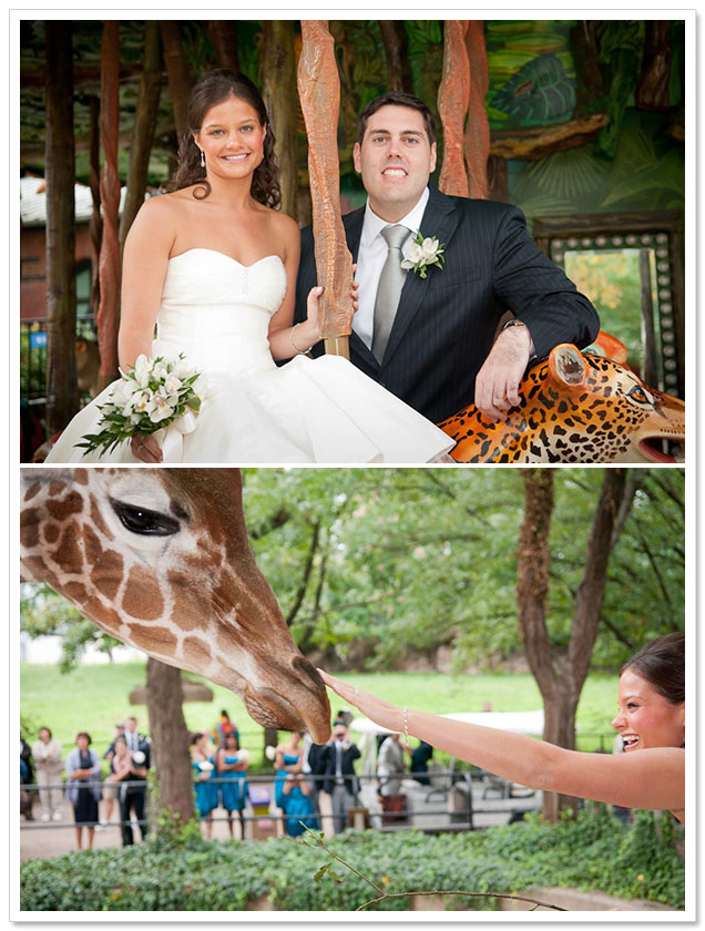 Philadelphia Zoo Wedding by Castell Photography on ArtfullyWed.com