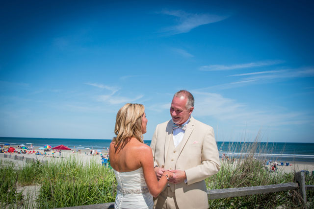 A summer wedding overlooking the bay in Stone Harbor | AMC Photography Studios: http://www.amcphotographystudios.com