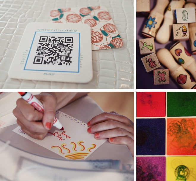 Quirky QR Code Wedding by amelia + dan photography
