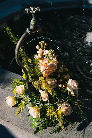 A fun and quirky wedding at the Abita Mystery House | Andrea Mabry Photography: http://www.andreamabryweddings.com