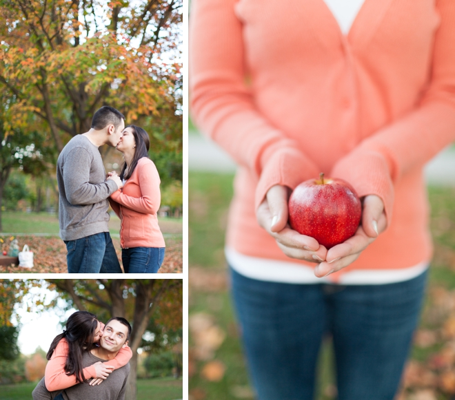 Autumn in Ohio Engagement by Andrew Smith Photography