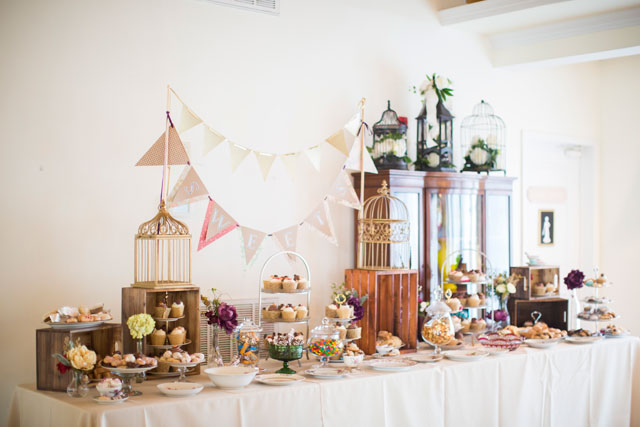 A jewel inspired boho wedding with tons of DIY details by the bride by #24KVendor Anna Schmidt Photography