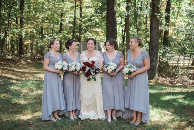 A charming autumn roaring 20s wedding in Baltimore by Anne Casey Photography