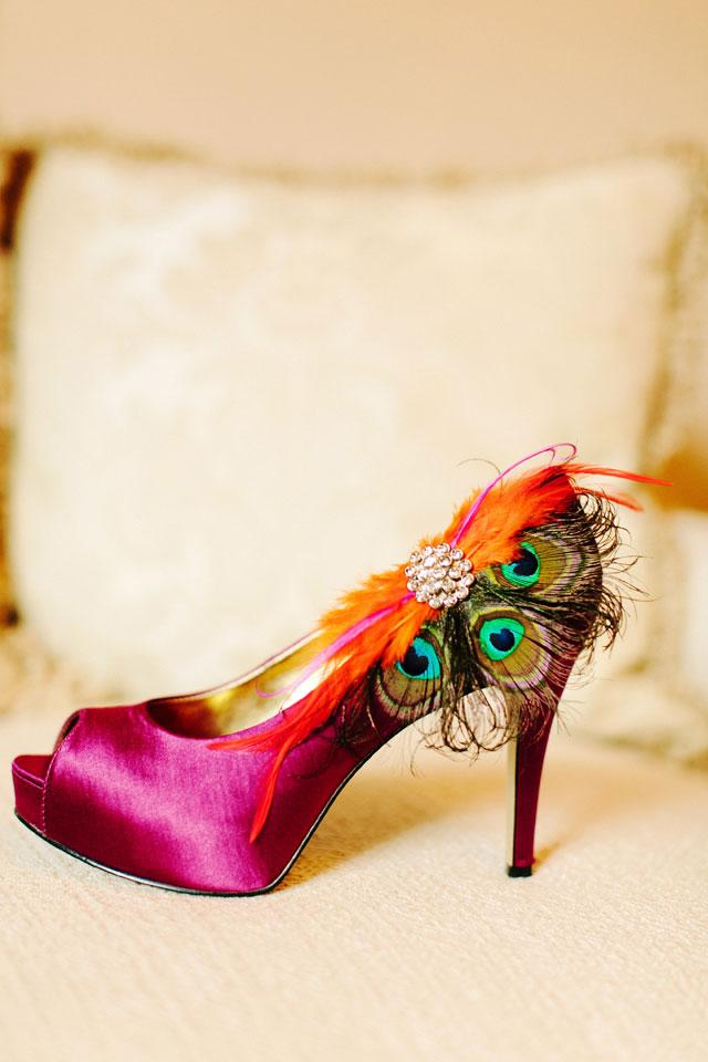 A vibrant magenta and orange Louisiana plantation wedding in springtime | Arte De Vie: http://www.artedevie.com